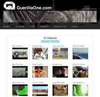 GuerillaOne Los Angeles graffiti art etc … Many manyyyy :) graffiti videos and pictures …