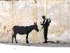Banksy - donkey