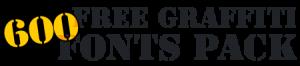 600 Free Graffiti Fonts PAck