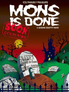 Mons Is Done - front cover