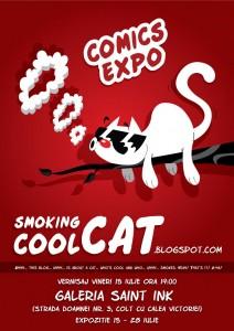 SmokingCoolCat Comics Expo