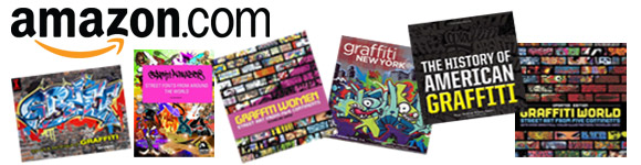 Amazon – search and buy for anything graffiti-related