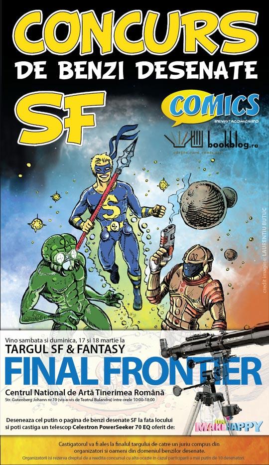 Concurs de benzi desenate SF la Targul SF & Fantasy