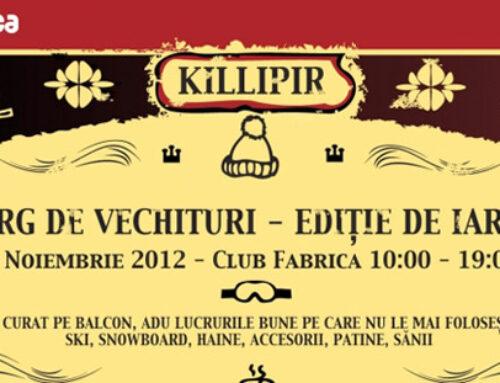 Killipir – Targ de vechituri, editia de iarna 2012