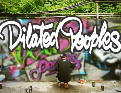 "Graffiti ""Dilated Peoples"" 