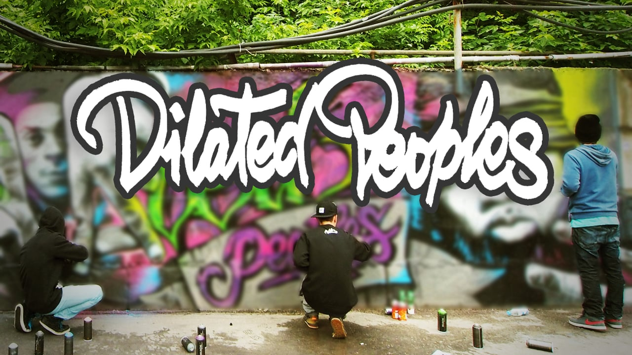 """Graffiti """"Dilated Peoples"""" 